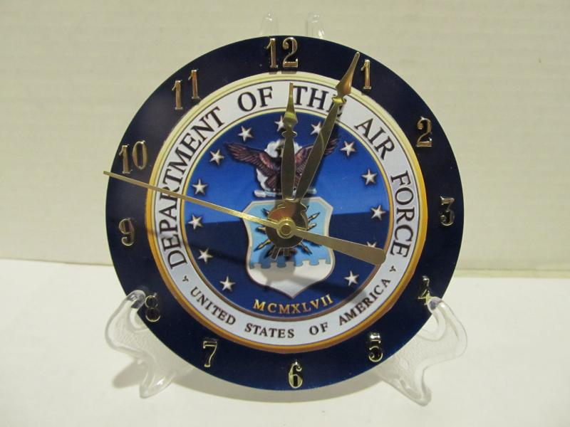 Dept of the Air force cd clock